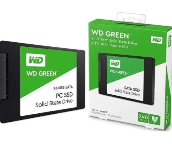 """WD Green SSD 240GB Sata 3 - WDC Green 240 GB 2.5"""" #3"""