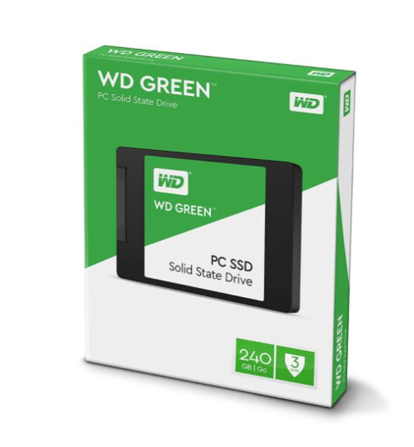 """WD Green SSD 240GB Sata 3 - WDC Green 240 GB 2.5"""" #2"""